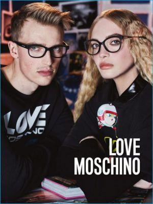 Victor Nylander Goes Sporty for Love Moschino's Fall Campaign