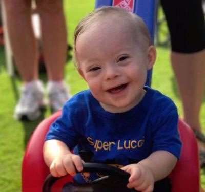 Lucas is the first Gerber baby with Down syndrome - and he's melting the internet's heart