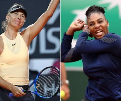 Serena's French Open path could lead to Maria Sharapova