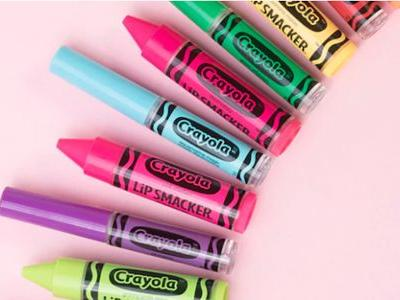 Where To Get The Lip Smacker x Crayola Collection To Really Color Your Beauty Bag