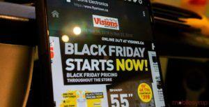 Electronics retailer Visions' Black Friday 2018 tech deals