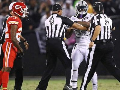 Derek Carr, Raiders find beastly offense again - with much less of Marshawn Lynch