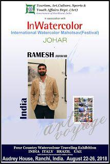 'In Watercolor' - International watercolor festival in Ranchi