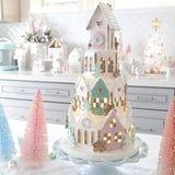 HomeGoods Is Selling a 4-Tier Pastel Gingerbread House That's Straight Out of Our Candy Land Dreams