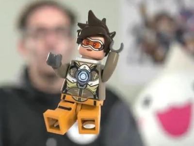 New Lego Overwatch teaser features adorable Tracer minifig