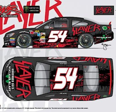 """Slayer apparently too """"terrifying"""" for NASCAR as band's sponsorship is pulled due to """"reactionary concerns"""""""