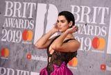 Dua Lipa's Sexy and Sweet Brit Awards Gown Is Telling Two Different Stories, and We're All Ears
