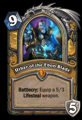 Hearthstone: Knights of the Frozen Throne - Analyzing Uther of the Ebon Blade