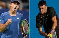De Minaur, Tomic into semifinals in China