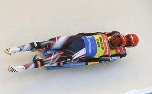 Eggert, Benecken set track record, win luge WCup doubles