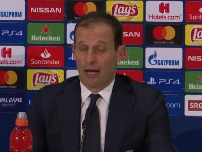 We're good at choosing the games to lose! - Allegri