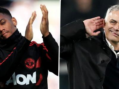 Mourinho reveals how he got the best out of 'phenomenal talent' Martial at Man Utd
