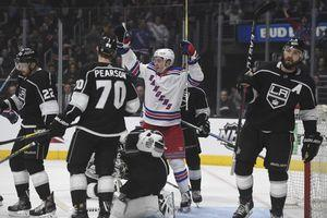 Power play pushes Kings past Rangers 4-2 to end skid