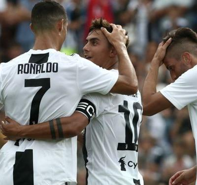 Video: Ronaldo scores on Juventus debut