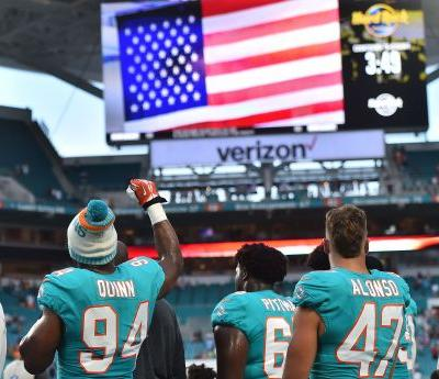 Donald Trump to NFL players: 'Be happy, be cool,' and stand for national anthem
