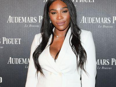 Serena Williams' Giant Engagement Ring Could Probably Double As A Tennis Ball