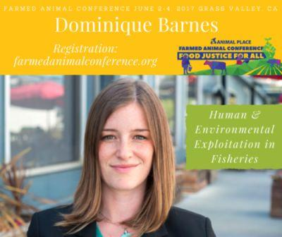 On Sunday, June 4, at our Farmed animal Conference, Dominique
