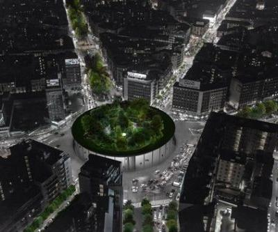 LAD Reimagines a Public Square in Milan with Hanging Garden