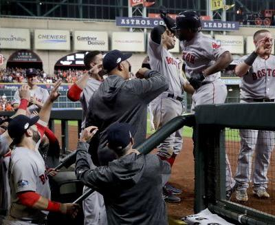Bradley's grand slam helps Red Sox beat Astros in ALCS