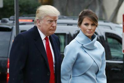 Melania Trump dons Ralph Lauren on Inauguration Day