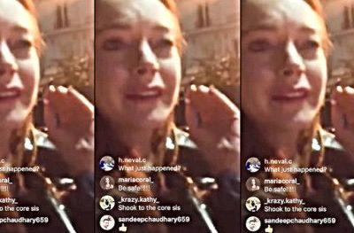 Lindsay Lohan Gets Punched in the Face Trying to Steal Refugee