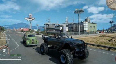 New Final Fantasy XV Update Adds Off-Roading