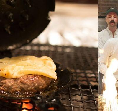 Watch: Legendary Sushi Chef Masa Invented a New Way to Cook Better Burgers