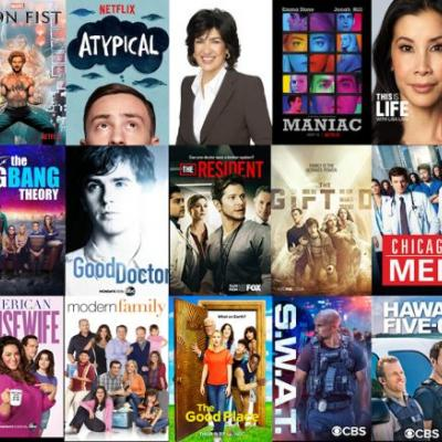 Top 15 Fall TV Premieres on X1 Asian American Film & TV