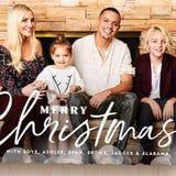 Is It Weird If We Frame Ashlee Simpson's Family Christmas Card? It's Just Too Cute!