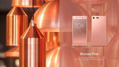 Bronze Pink Sony Xperia XZ Premium Coming To The UK In June