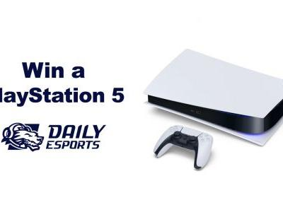 You could win a PlayStation 5 from our sister esports website