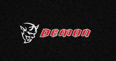 The Dodge Challenger 'SRT Demon' Is Coming, Because The 707hp Hellcat Is Obviously Underpowered