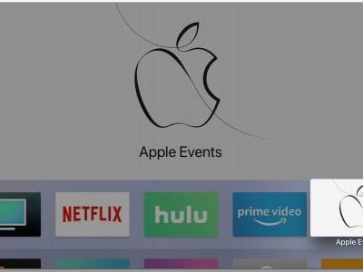 Apple Events app for tvOS updated ahead of education event, confirms no live stream
