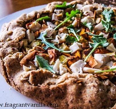 Rustic Fall Root Vegetable Tart