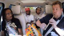 James Corden Learns Not To Mess With Migos' Sound On 'Carpool Karaoke'