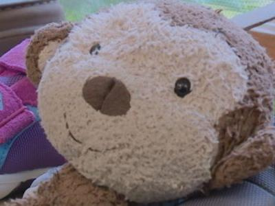 Stuffed monkey left at toy store goes viral