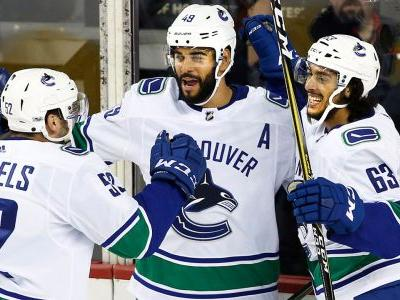 Canucks erase early two-goal deficit, beat Flames in pre-season play
