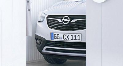 Opel Teases New Crossland X, To Be Revealed On Wednesday