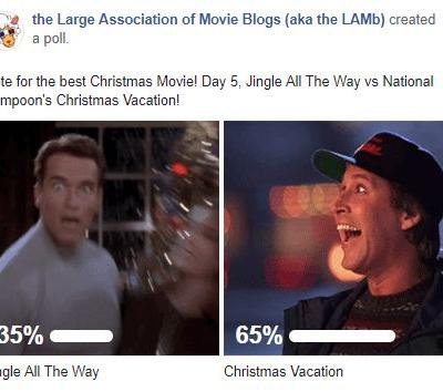 LAMBracket: Best Christmas Movie Play-Off 5 Results