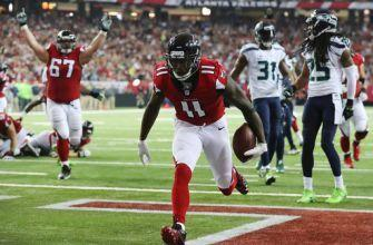 Ryan leads Falcons to NFC title game, beating Seattle 36-20