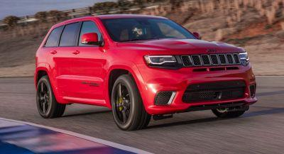707HP 2018 Jeep Grand Cherokee Trackhawk Priced From $86,995