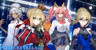 Fate/Extella Link Debuts at the Top of the Japanese Charts