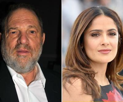 Harvey Weinstein responds to Salma Hayek's op-ed allegations