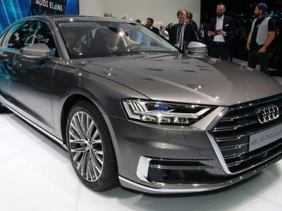 New Audi A8 Looks Even Better In Person