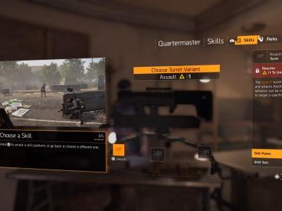 The Division 2 Best Skills: How to craft the best early game strategy for solo and team players
