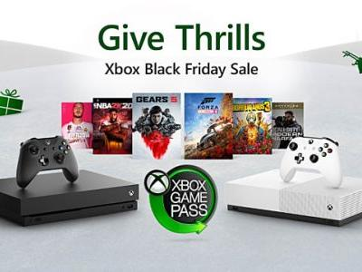 Microsoft's Xbox Black Friday Deals 2019