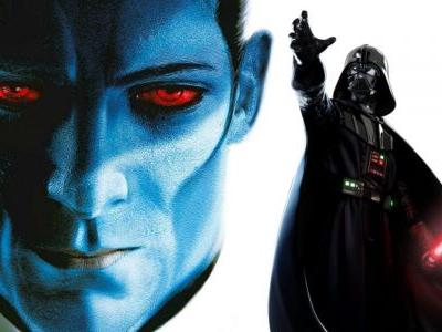 Star Wars: Thrawn Will Team-Up With Vader in Sequel Novel