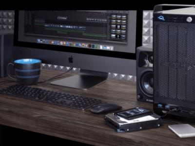 OWC's ThunderBay Flex 8 looks like a Mac Pro and adds bays, expansion