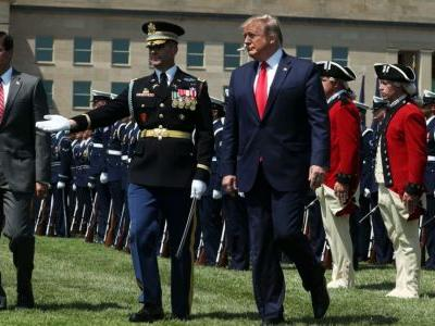 Pentagon Confirms Military Will Not Hold Traditional Farewell Ceremony for Trump