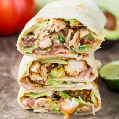 Chicken Wraps Recipe